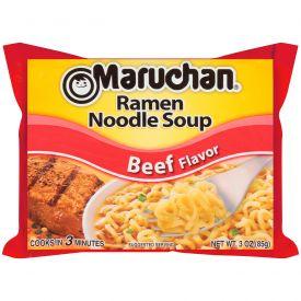Maruchan Instant Ramen Beef Noodles 3oz.