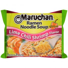 Maruchan Ramen Lime Chili Shrimp Noodles 3oz.
