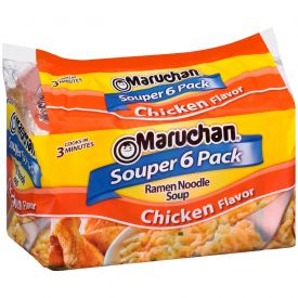 Ramen Souper Chicken Noodles 3oz.