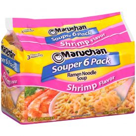 Ramen Souper Shrimp Noodles 18oz.