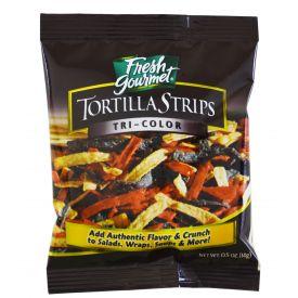 Fresh Gourmet Tri-Color Tortilla Strips .5oz.