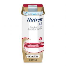 Nestle Nutren 1.5 Malnutrition Unflavored RTD Liquid 8.45oz.