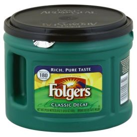 Folgers Decaf Classic Roast Coffee 22.6oz.