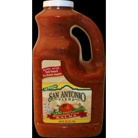 San Antonio Farms Medium Roasted Pepper Salsa 135oz.