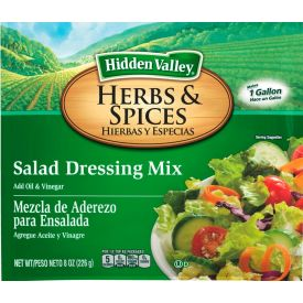Hidden Valley Herbs & Spices Salad Dressing Mix - 8oz **Limited Availability**