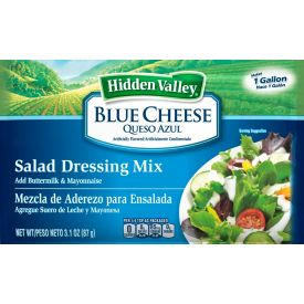 Hidden Valley Blue Cheese Dressing Dry Mix - 3.1oz