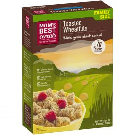 Malt O Meal Naturals Plain Shredded Wheat Cereal 24oz.