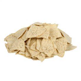 Mission Foods Pre-Cut Un-fried Yellow Chips 30lb.