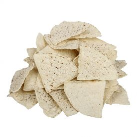 Mission Pre-Cut Un-fried White Chips Thin 20lb.