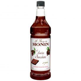 Monin Swiss Chocolate Syrup - 33.8oz.