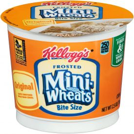Kellogg's Frosted Mini-Wheats Cereal Cups 2.5oz.