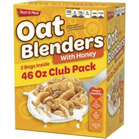 Malt O Meal Honey & Oat Blenders Cereal 46oz.