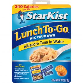 StarKist® Chunk White Tuna Packed In Water Pouch 4.1oz.