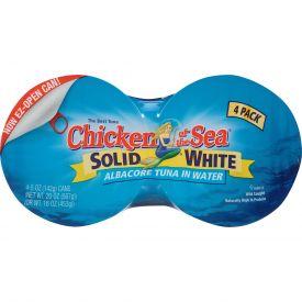 Chicken Of The Sea Solid Albacore Tuna In Water 20oz.