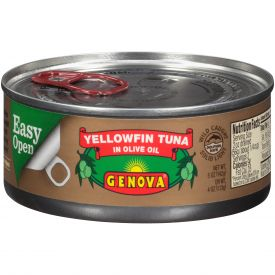 Genova Yellowfin Tuna In Olive Oil 5oz.