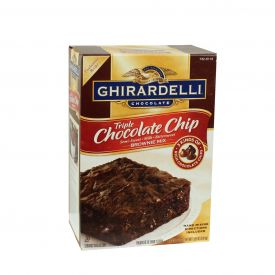 Ghirardelli Triple Chocolate Brownie Mix 7.5lb.