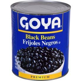 Goya Black Beans 110oz.