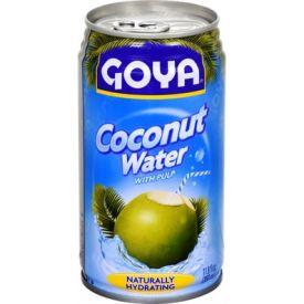 Goya Coconut Water W/Pulp 11.8oz.
