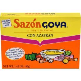 Goya Sazon Azafran 1.41oz.