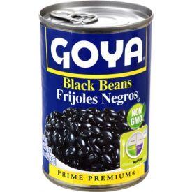 Goya Black Beans 15.5oz.