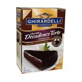 Ghirardelli Torte Chocolate Decadence 5.625lb.