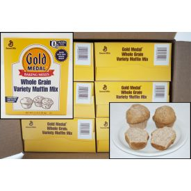 Gold Medal Whole Grain Variety Muffin Mix 5lb.