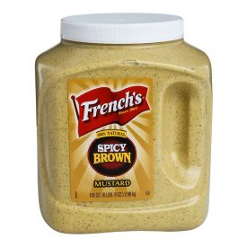 French's Bold N Spicy Brown Mustard 105oz.