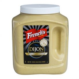 French's Dijon Mustard with Chardonnay Wine 105oz.