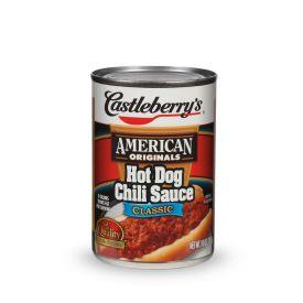 Castleberry's Hotdog Chili Sauce - 10oz
