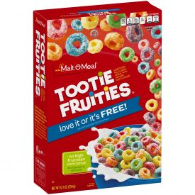 Malt O Meal Tootie Fruities Cereal 12.5oz.
