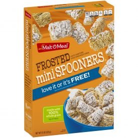 Malt O Meal Frosted Mini Spooners Cereal 15oz.