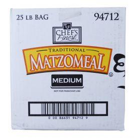Chef's Finest Medium Matzoh Meal 25lb.