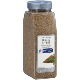 McCormick Pure Ground Black Pepper - 18 oz