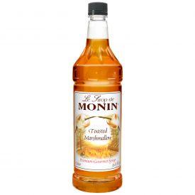 Monin Toasted Marshmallow Syrup, 33.8oz