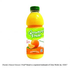 Florida's National Growers' Pride Orange Juice 33.8oz.