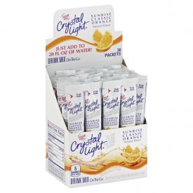 Crystal Light On-The-Go Sunrise Orange 0.16oz.