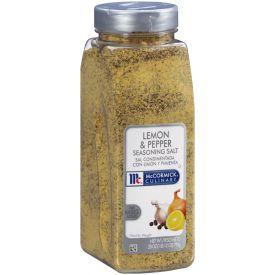 McCormick Lemon & Pepper Seasoning Salt - 28oz