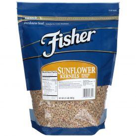 Fisher Roasted Sunflower Kernel with Sea Salt 32oz.