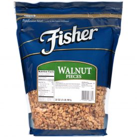 Fisher Walnut Nugget Pieces 32oz.