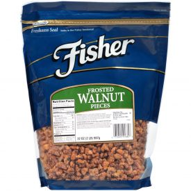 Fisher Frosted Walnuts 32oz.