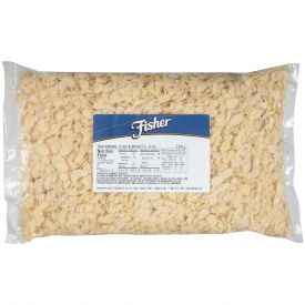 Fisher Blanched Sliced Almond 5lb.