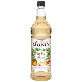 Monin WHITE PEACH Syrup - 33.8oz