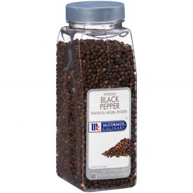 McCormick Whole Black Pepper - 19.5 oz