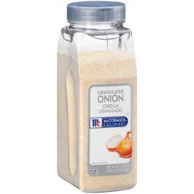 McCormick Granulated Onion - 18oz
