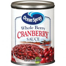 Ocean Spray Whole Berry Cranberry Sauce - 14oz