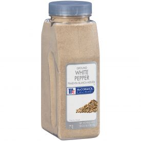 McCormick Ground White Pepper - 18oz