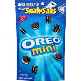 Nabisco Mini Oreo Snack Saks - 8oz