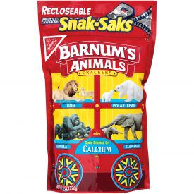 Barnum's Animal Crackers Snack Saks - 8oz