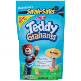 Teddy Grahams Snack Saks - 8oz