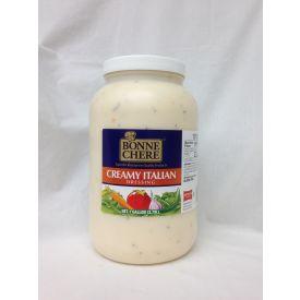 Bonne Chere Creamy Italian Dressing 128oz.